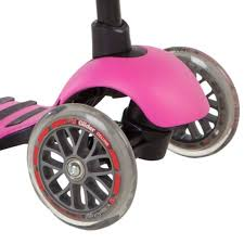 <b>Самокат Yvolution Glider XL</b> розовый