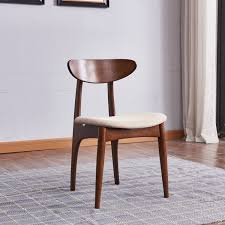 high quality furniture <b>nordic modern solid</b> wood dining chair ₱5042