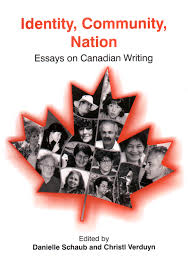 canadian studies collection books identity community nation essays on canadian writing