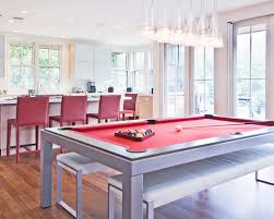 kitchen room pull table: convertible pool table photos dffa  w h b p contemporary kitchen