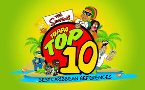 toppa top the simpsons best caribbean references largeup