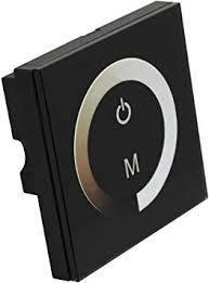 <b>DC 12V</b>-24V 8A <b>Touch</b> Panel LED Dimmer Switch for Single Color ...