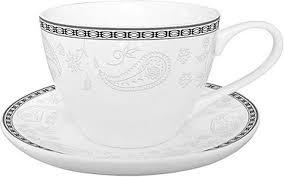 "<b>Набор чайный</b> Esprado ""Arista <b>White</b>"", 12 предметов, на 6 персон"