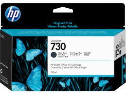 <b>HP 730</b> 130-ml <b>Matte</b> Black <b>DesignJet</b> Ink Cartridge P2V65A