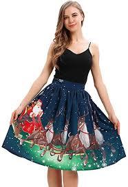Auifor <b>Christmas</b> Dresses Casual Fashion Lovely <b>Christmas</b> Print ...