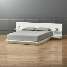 andes white queen bed cb2 cb2 bedroom furniture