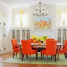 pin it orange dining chairs bhg burnt orange furniture