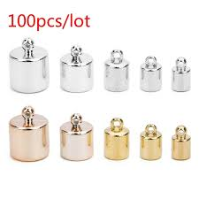 Linsoir <b>100pcs</b>/<b>lot</b> 4/5/7/<b>8</b>/<b>10mm</b> Hole Rose Gold Color CCB Spacer ...