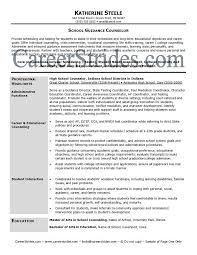 professional school counselor resume school guidance counselor resume sample example chemical dependency counselor resume