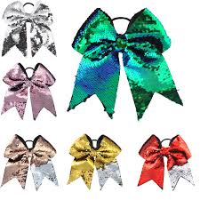 <b>1PC</b> Large 8 Inch Women Hair Accessories Scrunchies <b>Girls Glitter</b> ...
