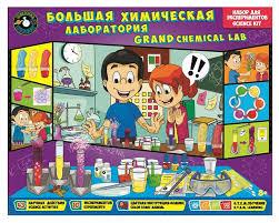 <b>Наборы для</b> опытов <b>Toys Lab</b>