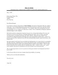 hotel manager cover letter     LiveCareer