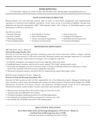 cover letter examples for food and beverage server sample fast food and beverage resume sample resume builder resume examples