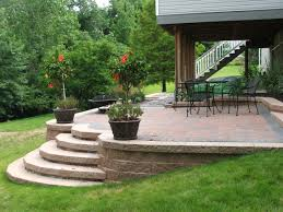 walkway stone patio slabs wall  images about porch amp patio on pinterest raised patio backyards and