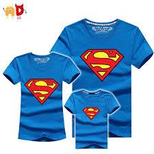 AD 1PCS <b>Superman</b> Family Matching T shirts Quality Cotton ...