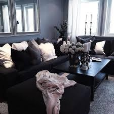 living room design ideas black full