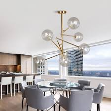 <b>Modern</b> personality magic beans <b>glass pendant lamp</b> designers tree ...