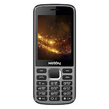 Mobile phone Nobby 300, Gray and black - Nobby