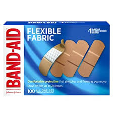 Band-Aid Brand <b>Flexible Fabric Adhesive Bandages</b> for Wound Care