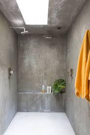 bathroom tile shower drain concrete