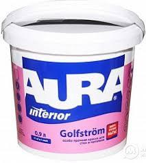 <b>Краска В/Д AURA GOLFSTROM</b> основа TR особопрочная для ...
