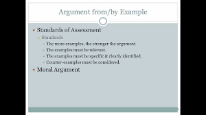 ethics argument by example   youtube ethics argument by example