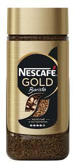 nescafe gold barista кофе растворимый сублимированный 75 г