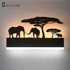 <b>Black</b> Acrylic Creative <b>Modern Led</b> Wall Light For Living Room ...