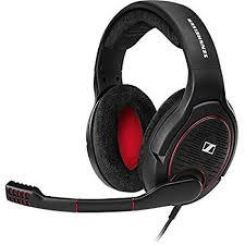 <b>Sennheiser</b> 506080 <b>Game One</b> Open Acoustic Gaming Headset ...