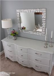 i like the idea of my own mirror above the dresser not so chunky beauty room furniture