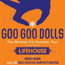 Goo <b>Goo Dolls</b> tickets in Morrison at Red Rocks Amphitheatre on ...