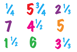 Improper fractions and <b>mixed numbers</b> explained   Fractions and ...