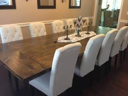 How To Make A Dining Room Table Homemade Dining Room Table How To Make A Diy Farmhouse Dining Room