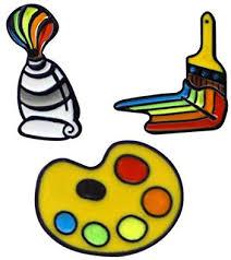 PunkStyle Creative Plant <b>Animal</b> Fruit <b>Enamel</b> Brooches <b>Pins</b>