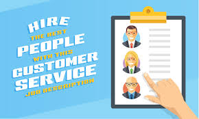 hire the best people this customer service job description customer service job 01