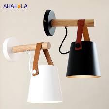 E27 <b>Modern Wall Lamp</b> White Black <b>Indoor</b> Led <b>Wall Lights Modern</b> ...