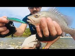 Ultralight Fishing Riverside - YouTube