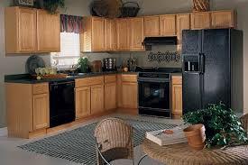 colors kitchen inspiration oak cabinets