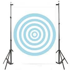 Παραγγελία απο Bangood 3x5FT Blue Circle Photography Backdrop ...