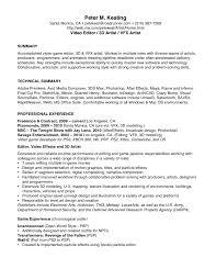 resume editing cipanewsletter video editor resume sample copywriter editor marketing sample