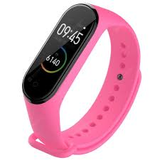 <b>TAMISTER</b> Replacement Wristband for Xiaomi Mi Band 4 Pink ...