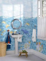 kids bath decor