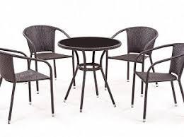 Плетеные столы-<b>стулья</b>