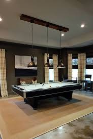 like the light above table billiard room a vintage industrial basement remodel camille deann outrageous interiors billiard room lighting