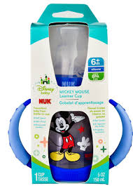 NUK Disney Baby Mickey Mouse <b>Learner Cup 6</b>+ Months -- 1 Cup ...