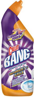 """<b>Средство</b> дезинфицирующее для <b>туалета Cillit</b> Bang """"<b>Антиналет</b> ..."""