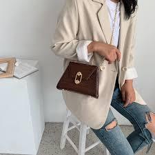 <b>Stone Pattern</b> PU Leather <b>Crossbody</b> Bags For <b>Women</b> 2020 Small ...