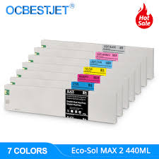 <b>440ML ECO</b> SOL MAX 2 MAX2 Replacement Ink Cartridge ESL4 ...