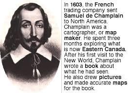「Samuel de Champlain」の画像検索結果