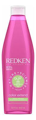 <b>Redken шампунь</b> для волос <b>nature</b> + <b>science</b> color extend ...